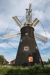 Holgate Windmill - decorated for the Tour de France (6)