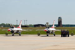 Thunderbirds Ground Crew Performance - Joint Base McGuire-Dix-Lakehurst Open House & Air Show 2014 (adcristal) Tags: show burlington us newjersey fighter force walk object aircraft aviation air united debris airplanes flight wing nj ground airshow demonstration f16 crew falcon damage states thunderbirds fighting airforce foreign usaf base fod aerospace mcguire squadron afb 57th 2014 mdl lockheedmartin generaldynamics mcguireairforcebase newhanover airdemonstrationsquadron nikond80 nikon70300mmf456g 57thwing northhanover jointbase jointbasemcguiredixlakehurst jointbasemcguiredixlakehurstopenhouseairshow