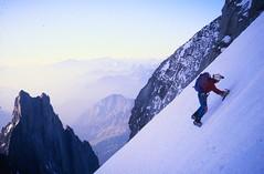 Upper Freney Glacier (andywalker1) Tags: andrewwalker montblanc alpinism andywalker alpineclimbing freney freneypillar pilierdufreney
