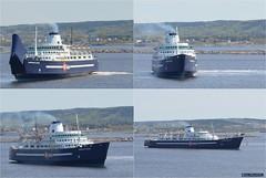 departure (Ultrachool) Tags: canada water ferry ship vessel newbrunswick bayoffundy saintjohn bayferries princessofacadia