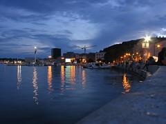 Riva , Split (T.J. Jursky) Tags: night canon cloudy eu croatia split adriatic dalmatia tonkojursky