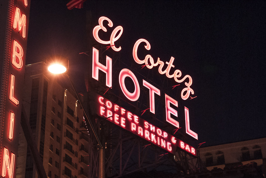 El Cortez Hotel and Casino in Las Vegas.