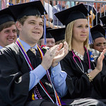 "<b>Luther College Commencement 2014</b><br/> Luther Celebrates the Graduating Class of 2014. Photo taken by Toby Ziemer.<a href=""http://farm6.static.flickr.com/5496/14282730901_e11bf9777d_o.jpg"" title=""High res"">∝</a>"