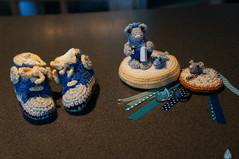 Hello baby! :) ~ Beschuit met muisjes (Swaentje5) Tags: netherlands crochet birth nederland babybooties geboorte beschuitmetmuisjes traditie dutchtradition haakwerk babyslofjes