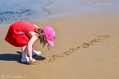 My Name Is... (karllaundon) Tags: family sea summer sun cute beach fun happy seaside day child laugh northeast rockpool redcar