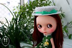 My Custom Commission  Blythe Doll.