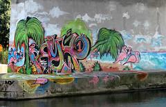 graffiti (wojofoto) Tags: amsterdam graffiti streetart wojofoto hof amsterdamsebrug flevopark nederland netherland holland wolfgangjosten pryx