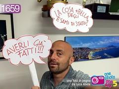Foto in Pegno n 1659 (Luca Abete ONEphotoONEday) Tags: me 16 ironic giugno cartello selfie maturit 2015 paura avviso 1659 esami