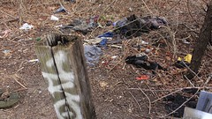 Spring Creek Park, Brooklyn (Laura Gonzalez/ PBNPhotography) Tags: springcreekpark brooklyn water boats boat ship ocean marine ghostship forgottenwaterway undeveloped marshland paths sanitation pollution crime murder dumpingground