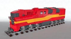 MTJ-037 (Sunder_59) Tags: lego moc mecabricks blender3d render train transport vehicle locomotive