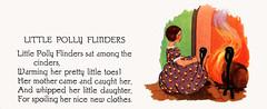 Little Polly Flinders (katinthecupboard) Tags: vintagechildrensillustrations nurseryrhymes mothergoose charlottestone