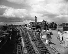 Westhafen 8X10 (CourtLux) Tags: 8x10 berlinwest beuselbrcke fujion56180mm westhafen