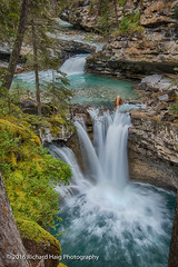 Johnston Canyon Upper Falls (RichHaig) Tags: trees gitzotripod landscape nikonafsnikkor2412014ged waterfalls nature water johnstoncanyon johnstoncanyonupperfalls canada richhaig alberta nikond800 rocks banff national park banffnationalpark