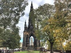 The Scott Memorial, Edinburgh (Baz Richardson (trying to catch up)) Tags: scotland edinburgh scottmemorial scottmonument princesstreetgardens