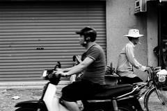 opposite ways (travishawk) Tags: street saigon vietnam city urban