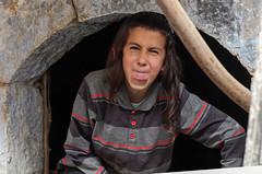 When a Negger Photographer Meets a Rude Boy... (ybiberman) Tags: israel jerusalem meahshearim boy passover kippah payot streetphotography candid portrait tongue ultraorthodox strictlyorthodox jew