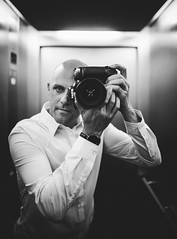 Selfie (Tim RT) Tags: tim rt wedding selfie me person people man photographer work mirror nikon d810 male flickr photography black white bw monochrome life style new picture sigma 35mm art