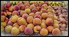 Peaches (Steve Wilson - over 8 million views Thanks !!) Tags: nikon d7000 nikond7000 fruit peaches peach display market stall marketstall spain majorca alcudia colorful colourful