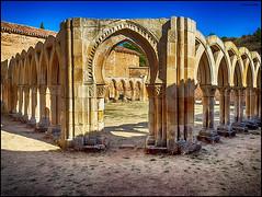 (2383) Arcos de San Juan de Duero (QuimG) Tags: arcosdesanjuandeduero soria spain golden art claustro church olympus quimg quimgranell joaquimgranell afcastelló specialtouch obresdart