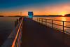 Petone Pier (Jos Buurmans) Tags: citylandscape coastallandscape evening foreshore huttcity landscape lowerhutt nature newzealand northisland petone pier seascape sunrays sunset sunshine vanishingpoint wellington cityscape nz