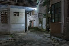 Backyard no. 3 (Markus Lehr) Tags: backyard paintsamples textures urbanspace longexposure nightshot china markuslehr