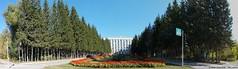 Budker Institute of Nuclear Physics, Novosibirsk (mad_sanity) Tags: academgorodok novosibirsk architecture institute siberia science landsape summer city physics sbras 180