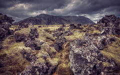 Lava and Moss (Geinis) Tags: iceland lava landscape mountain moody moss canon clouds canon70d tokina1116mmf28 travel atmosphere nature geinis