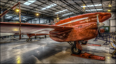 The Shuttleworth Collection 33 (Darwinsgift) Tags: shuttleworth collection old warden aviation museum bedfordshire dh comet grosvenor house hdr red photomatix nikkor 20mm f18 g nikon d810
