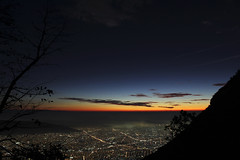 The first lights of a raising sun (TonyD.2) Tags: morning mornings mountain hills alone city monterrey nuevolen mxico mx nature beautiful colorful