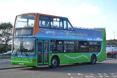 Southern Vectis Island Breezers 1992 GSK962 (Will Swain) Tags: 14th october 2016 beer walks isle wight yarmouth weekend south southern bus buses transport travel uk britain vehicle vehicles county country england english vectis island breezers 1992 gsk962 hw52epl