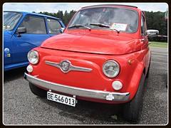Fiat 500 F, 1966 (v8dub) Tags: fiat 500 1966 schweiz suisse switzerland italian pkw voiture car wagen worldcars auto automobile automotive old oldtimer oldcar klassik classic collector