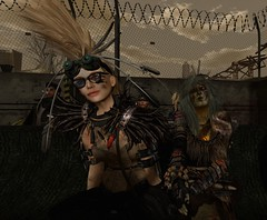 Wastelands Community Meeting November 2016...WUT (tralala.loordes) Tags: tralala loordes lunesta matova wastelands potato farm fight arena community meeting ghoul linden labs prims postapocalyptic