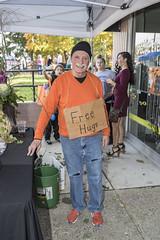 Free Hugs (will139) Tags: hugs freehugs us40 thenationalroad irvingtonhalloweenfestival people man events festivals indianapolisindiana