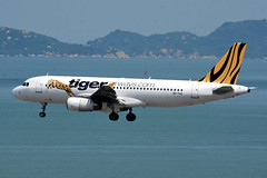 Tiger Airways 9V-TAZ (Howard_Pulling) Tags: hongkong airport hk china howardpulling nikon d7200 camera picture transport asia