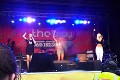 Tiger Heart [2] (Ian R. Simpson) Tags: tigerheart band girlband singers entertainers vocalists morecambecarnival2016 mc16 morecambe lancashire act stage music concert performance
