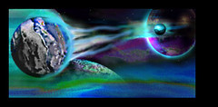 Scifi - Planets in Gravity War (chazart7777) Tags: scifi gimp space planets digitalpainting digitalart sciencefiction cosmos