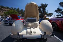 Cord (draydogg) Tags: 10thannual 1936 1936cordwestchester cambria carshow classz classic classiccar cord entry117 johnnancybraun pinedorado pinedoradocarshow streamlined vintage