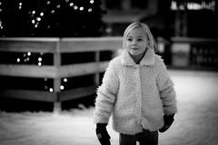 Sweetheart (Hans Dethmers) Tags: flickr girl younggirl meisje rink ijsbaan gloves handschoenen blond hansdethmers blackandwhite zwartwit monochrome