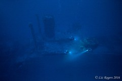 Exploring the Mark One (Liz_Rogers) Tags: featured image ocean diving wrecks exploration malta rebreather shipwreck underwater photography wreck