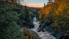 Lutsen Mountains (Paul Domsten) Tags: lutsen minnesota river stream landscape water outdoor waterfall pentax northshore skiing skislopes autumn fall colors lakesuperior