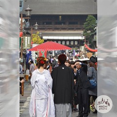(finalistJPN) Tags: happywedding bride bridalcouple japanesestyle wafuku presentingpicturesandphotos ppap attemple discoverjapan japanguide traveljapan discoverychannel stockphotos