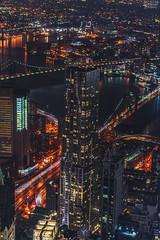 DSC_0800 (tausigmanova) Tags: panorama pano nikon d3300 manhattan new york city nyc urban skyline night nightphotoraphy world trade wtc freedomtower freedom tower oneworldobservatory longexposure