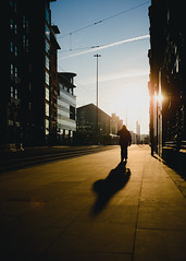(double_eh_foto) Tags: manchester nikon nikond7000 sunset shadow