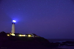 [Starry Night] (miltonsun) Tags: starrynight pigeonpointlighthouse northerncalifornia lighthouse sunset starlight shore nightscene longexposure highway1 seascape bay ngc bayarea nightphotography wave ocean westcoast bluehour sanmateocounty pacificocean evening sunrise landscape autumn outdoor