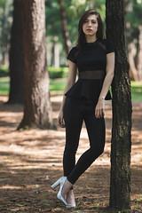 In the forest. (Gerardo Nava Fotografa.) Tags: sony alpha a77ii sonyflickraward sonyalpha sonymxico sonya77ii sonyzeiss sonyalphamexico zeiss zeisslens sal135f18z sonnart18135za sonnart18135 135mm portrait retrato fashion woods beautiful bokeh