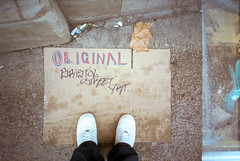 Original Bristol Street Art (Shot In The Street) Tags: streetphotography lomography feet portra candid analogue street bristol filmisnotdead 400 lca streetart lomo film kodak