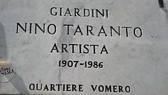 Street tablet on Nino Tatanto in Naples (Carlo Raso) Tags: ninotaranto streettablet vomero naples italy