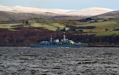 HMS Sutherland (Zak355) Tags: rothesay isleofbute bute scotland scottish shipping royalnavy frigate f81 ship boat vessel hmssutherland riverclyde