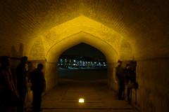 iran_009 (muddycyclist) Tags: panasonic lumix lx7 iran isfahan esfahan bridge night