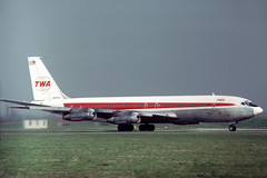 N18710 Boeing 707-331B TWA Trans World Airlines (pslg05896) Tags: n18710 boeing707 twa transworldairlines lhr egll london heathrow
